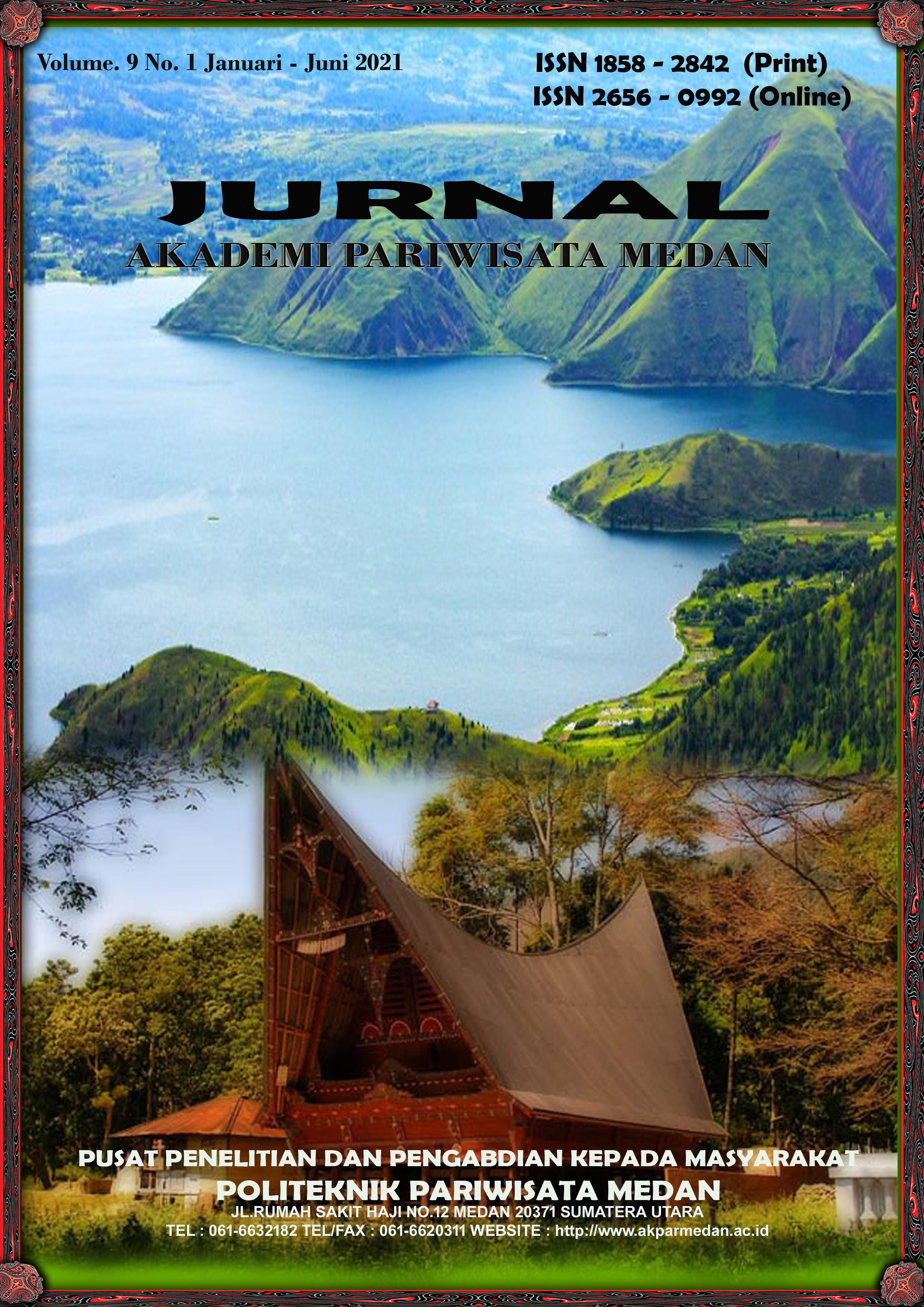 View Vol. 9 No. 1 (2021): Jurnal Akademi Pariwisata Medan